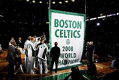 Boston Celtics 2008 Championship Banner Raising Videos