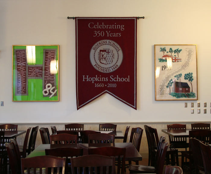 custom banners  flags  table drapes for high schools  new