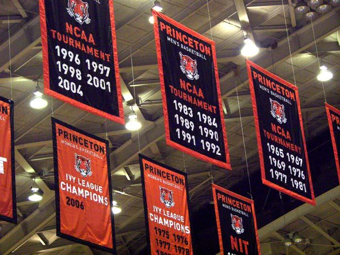 Custom Princeton Basketball Add A Year Championship Banners