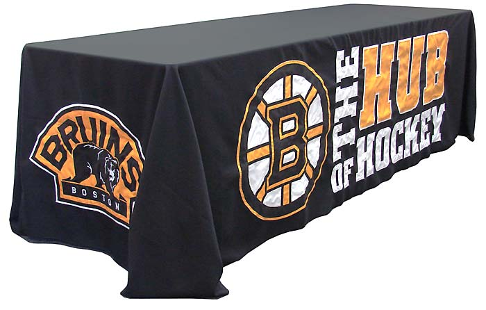 custom table drapes, table throws, table covers, and table skirts