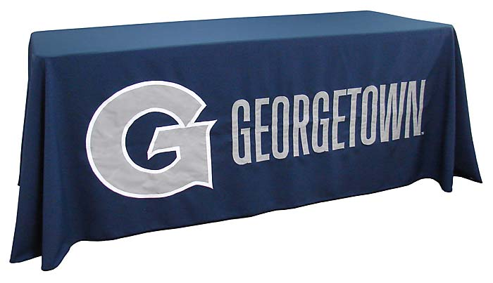 ... Applique Table Throw: Georgetown ...