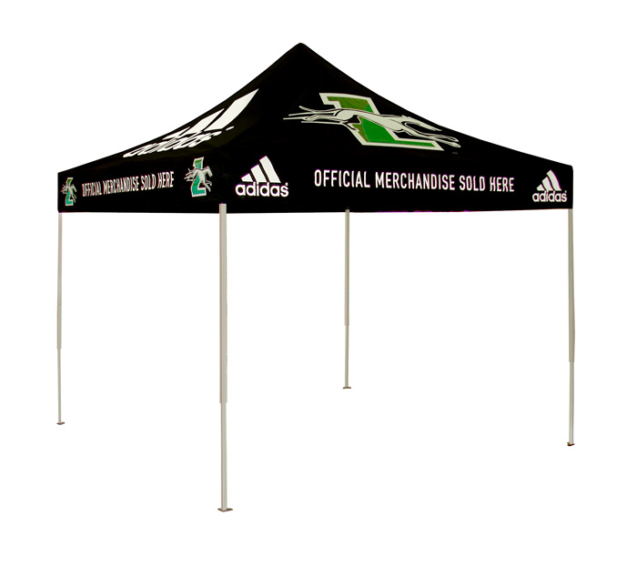 ... Custom Popup Logo Tents. adidas loyola tent University ...  sc 1 st  New England Flag u0026 Banner & Custom Printed Popup Logo Tents: New England Flag u0026 Banner