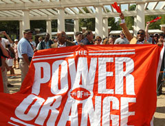 Power of Orange banner for University of Virginia