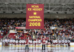 Boston College 2008 NCAA Championship Banner Raising Video