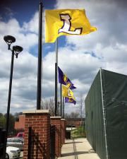 Hand sewn flags for Lipscomb baseball stadium
