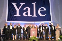 Huge applique Yale banner