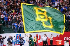Custom football flag for Baylor