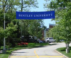 Custom over the road banner for Bentley
