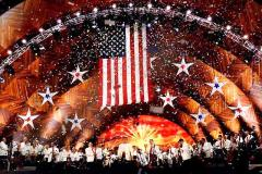Giant U.S. Flag for Boston Pops 4th of July Concert