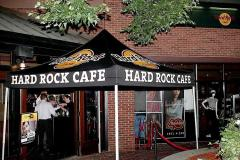 Hard Rock Cafe custom tent
