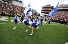 University of Kentucky hand sewn spirit flags