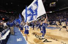 University of Kentucky hand sewn battle flags