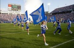 kentucky cheerleading letter flags