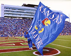 Jayhawks Battle Flag