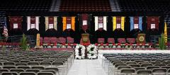 Graduation banners for NM State departments
