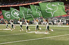 Applique New York Jets J-E-T-S spirit flags
