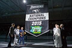 Custom championship banner for Providence College