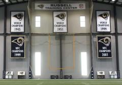 Saint Louis Rams applique championship banners