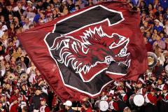 Applique South Carolina football flag