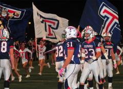 tesoro high school cheer flags football