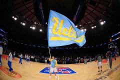 Custom cheer flag for UCLA basketball