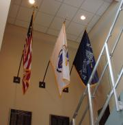 Watertown, MA Police Department Flags