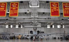 Applique championship banners for U.S. Air Force