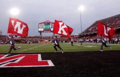 WKU football letter flags