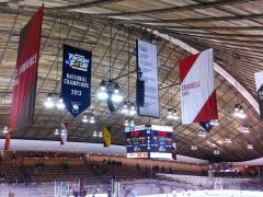 Hand sewn championship and conference banners for Yale