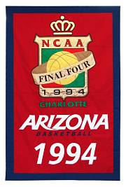 arizona state ncaa final four championship banner 1994