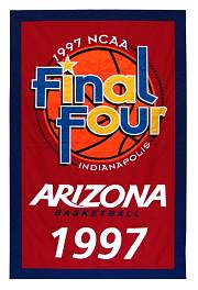 arizona state ncaa final 4 championship banner 1997