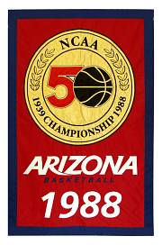 arizona state ncaa national champions banner 1998