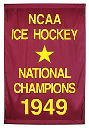 Boston College Ice Hockey National Champions applique banner