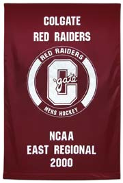 Colgate NCAA East Regional fabric championship banner