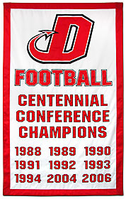Custom Dickinson Football Conference Champions add a year banner