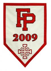 Fairfield Prep custom banner for commencement