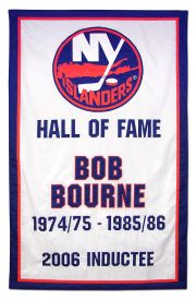 Applique New York Islanders Hall of Fame banner