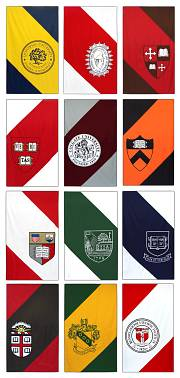 Yale Ivy League Conference Hockey Banners