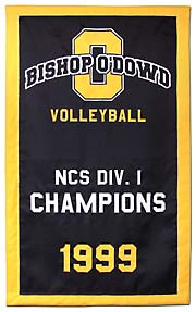Bishop O\'Dowd Division Champions banner