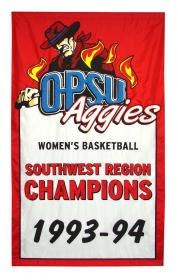 oklahoma panhandle state university championship banner
