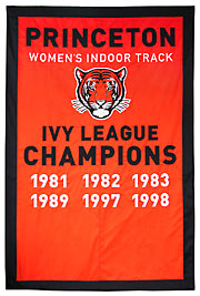 Custom Princeton Womens Track Ivy League Champions banner