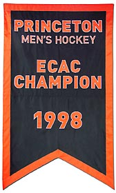 Applique Princeton Men's Hockey ECAC champion banner