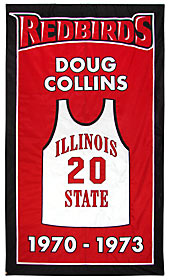 Applique Illinois State Redbirds coaching achievement banner