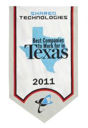 Shared Technologies banner Best in Texas