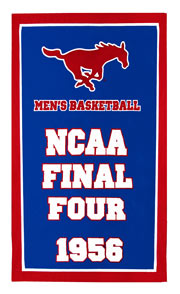 Applique NCAA Final Four banner