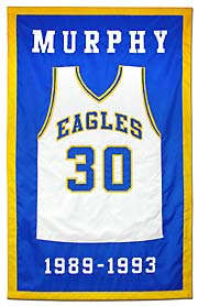 St. Elizabeth retired number banner, applique