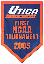 Custom Utica Field Hockey NCAA Tournament banner