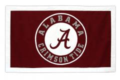 alabama crimson banner logo banner for conference banner set