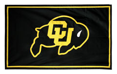 Colorado University custom spirit flag