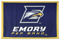 Emory Eagles fabric travel banner